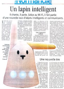 Le Lapin dans Paris-Normandie Lapin-pn2